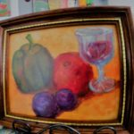 Autumn Tuscan Still Life by: Donna Sheehan, Acrylic, 10.5