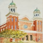 Tabernacle Baptist Church by: Colette Hughes Watercolor, 12