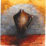Urn2 by: Antonela Boyles, Watercolor on Paper, 5